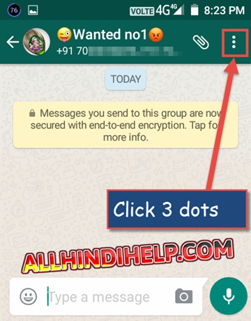 Whatsapp group invite link kaise generate kare ya banaye ab aapko left side me 3 dot dikhege unpar click kare or fir aapke samne kuch option show honge unmese group info par click kare stopboris Image collections