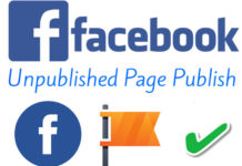 unpublished facebook page-publish kaise kare full detail