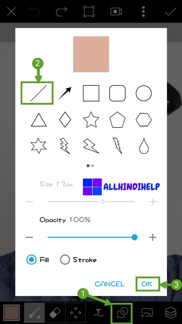 tap-on-draw-icon-and-select-line-and-set