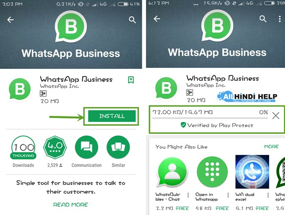Whatsapp download karna hai jio phone par