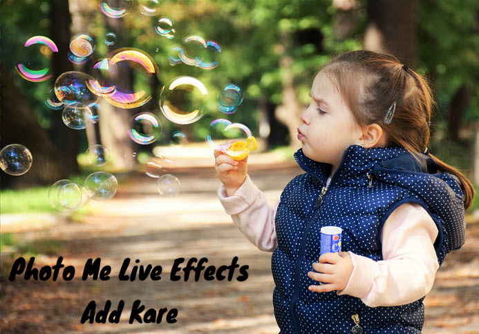 kisi bhi photo me live effects kaise addkare full detail in hindi