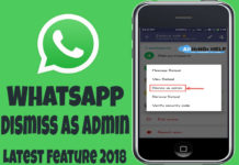 whatsapp dismiss admin feature kya hai aur kaise use kare full detail
