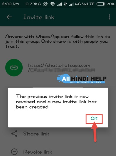 now-your-whatsapp-group-invite-link-successfully-deactivate