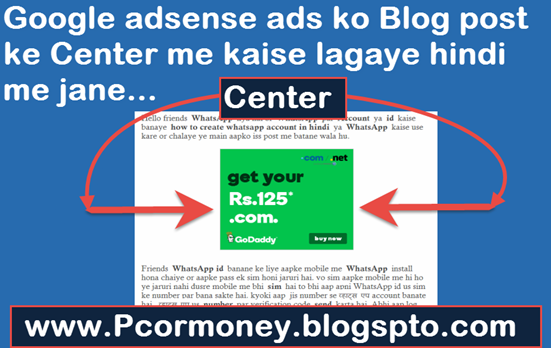 Google-adsense-ke-ads-blog-ki-post-ke-center-me-kaise-lagaye-hindi-me-jane