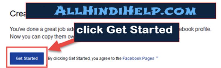 click-Get-started-option