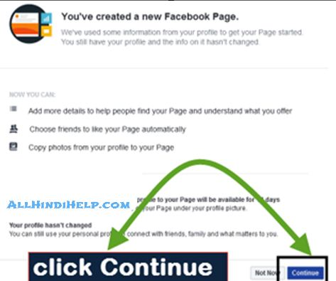 create-new-page-click-continue
