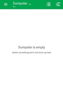 dumpstar-app-is-empty