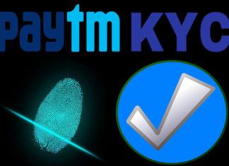 paytm kyc complete kaise kare link aadhar with paytm