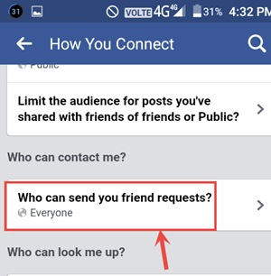 facebook add friend button kaise chupaye