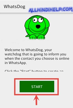 whatsdog-tap-on-start