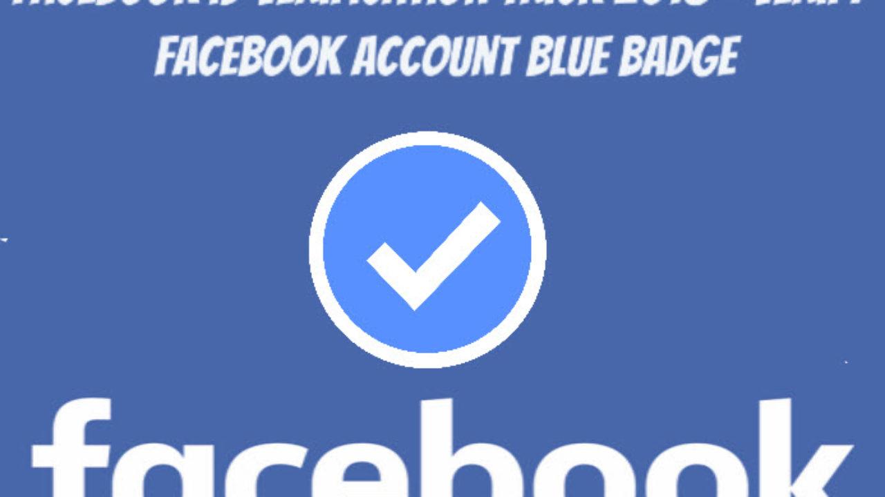 Facebook ID Verification Trick 2018 - Verify Facebook Account Blue Badge