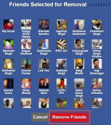 facebook friends unfriend kare