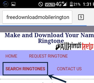 tap-on-search-ringtone