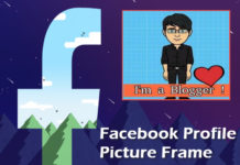 facebook profile picture me frame kaise add kare ya lagaye