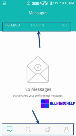 sarahah-app-homepage