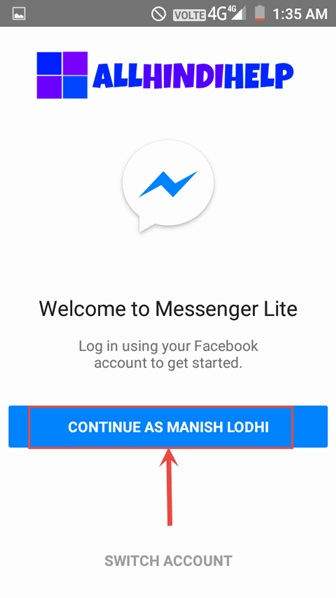 Messenger Lite Kya Hai Aur Kaise Use Kare ? Messaging App