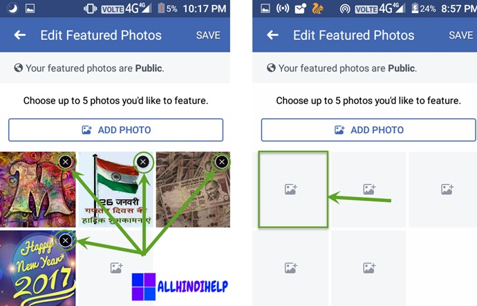 facebook profile me  supported thumb image kaise lagaye