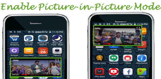 android phone me picture-in-picture mode enable kaise kare