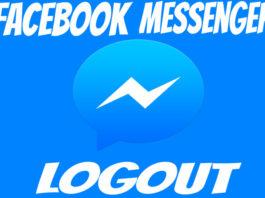 facebook messenger logout signout kaise kare full detail in hindi