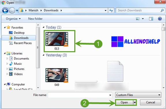 select-the-video-and-open