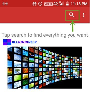 tap-on-search