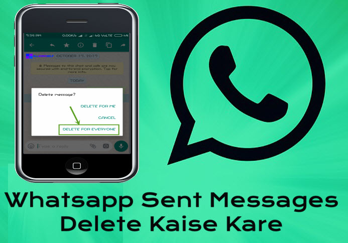 whatsapp sent message delete kaise kare recall whatsapp messages in hindi