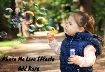 kisi bhi photo me live effects kaise addkare full detail in hindi