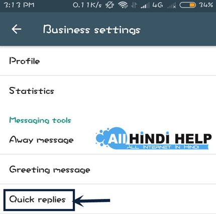tap-on-quick-replies