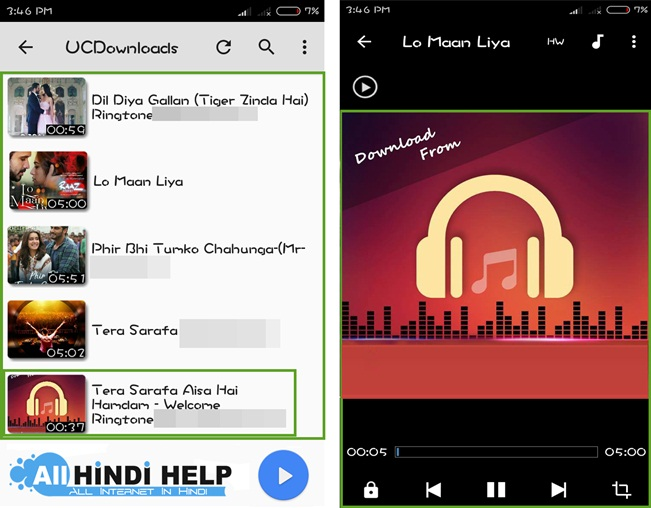tap-song-and-select-song-and-song-running-mx-player