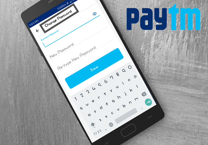 paytm password change kaise kare set new password
