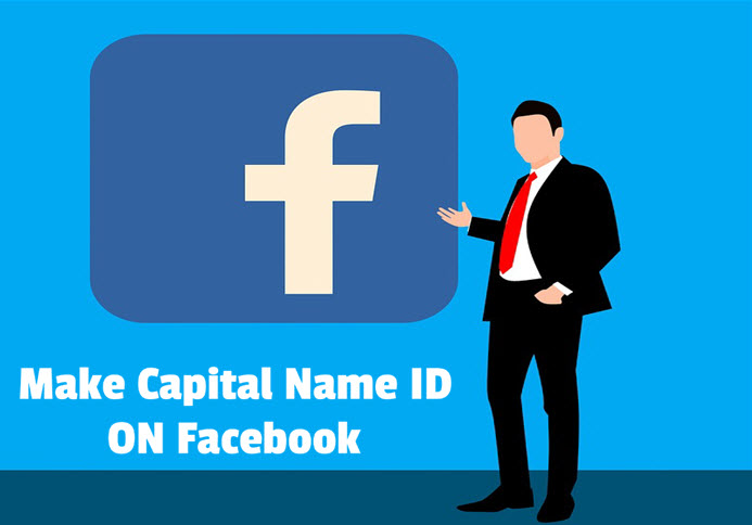 facebook par capital name id kaise banaye without using vpn in hindi