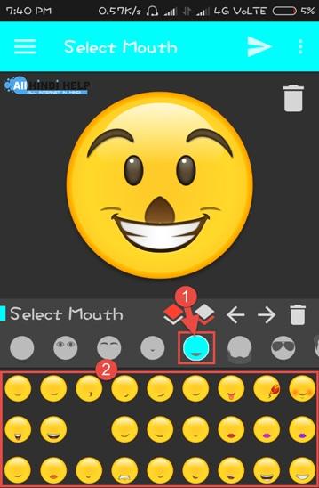 select-emoji-mouth-icon