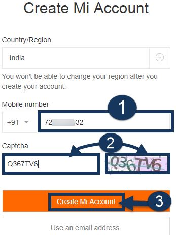 enter-your-mobile-number-captcha-code-and-tap-create-mi-account