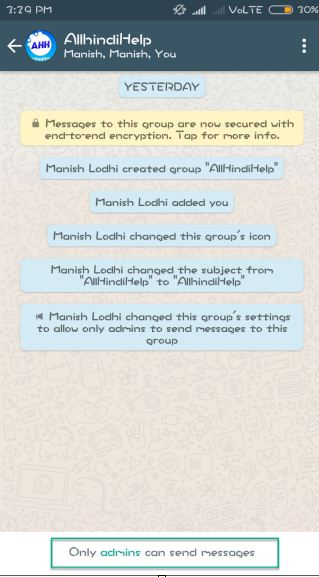 now-only-admins-can-send-messsage-in-whatsapp-group