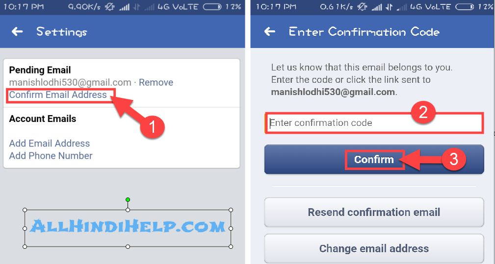 confirm-email-address-in-facebook