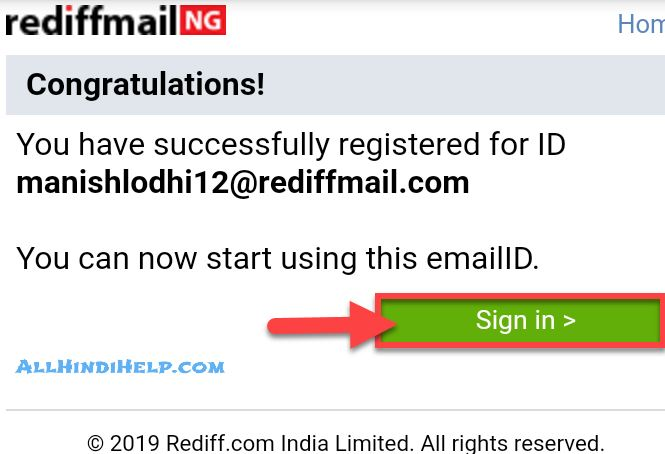 tap-on-sign-in-option-in-rediffmail