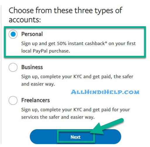 select-personal-option-and-next