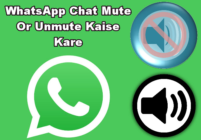 whatsapp chat mute or unmute kaise kare in hindi