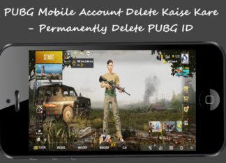 Pubg mobile account delete kaise kare permanently delete pubg id