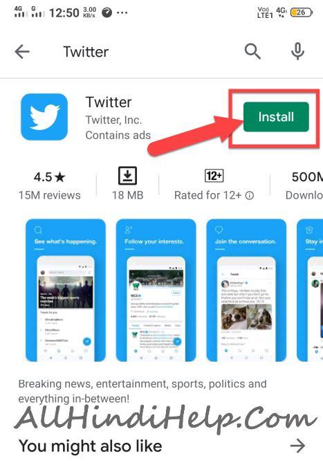 twitter download karne ka tarika