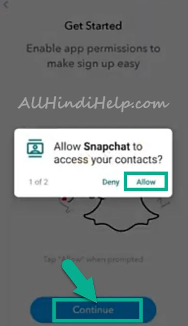 snapchat-app-me-account-kaise-banaye
