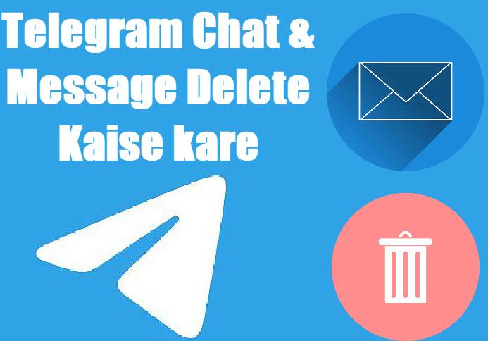 telegram chat delete kaise kare in hindi