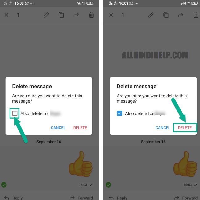 telegram chat messages delete kaise kare in hindi