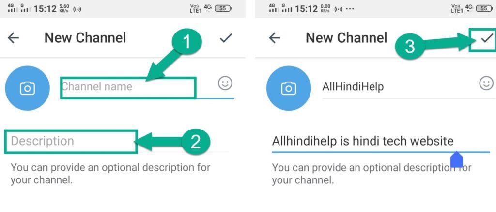telegram par channel kaise banaye