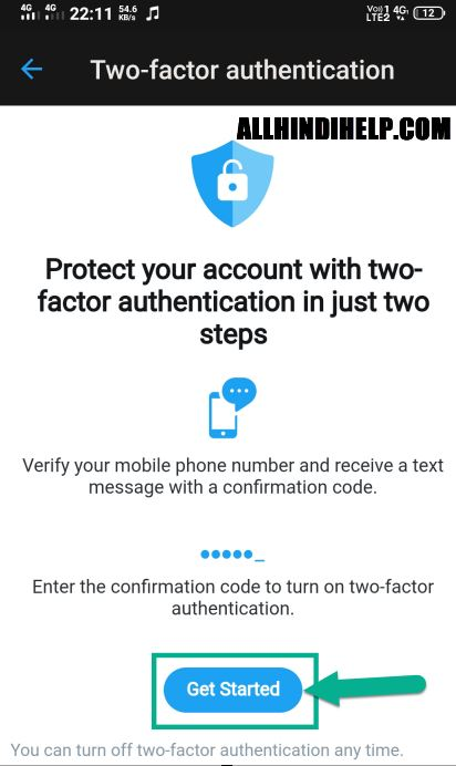 twitter two factor authentication kya hai enable kare