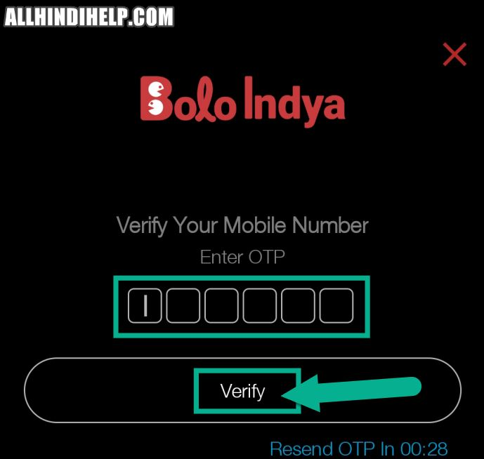 bolo indya app me account kaise banaye