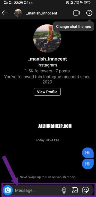 instagram vanish mode kaise kaam karta hai