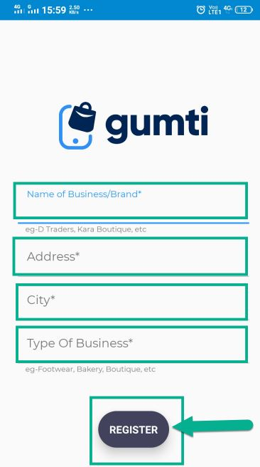 name of business