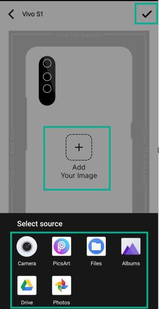 mobile ke liye printed photo cover order kaise kare