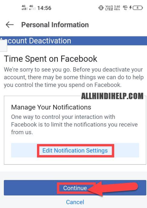 facebook lite account delete karne ka tarika
